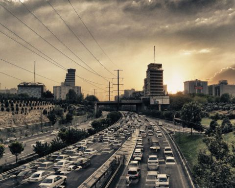 Superstrada a Teheran