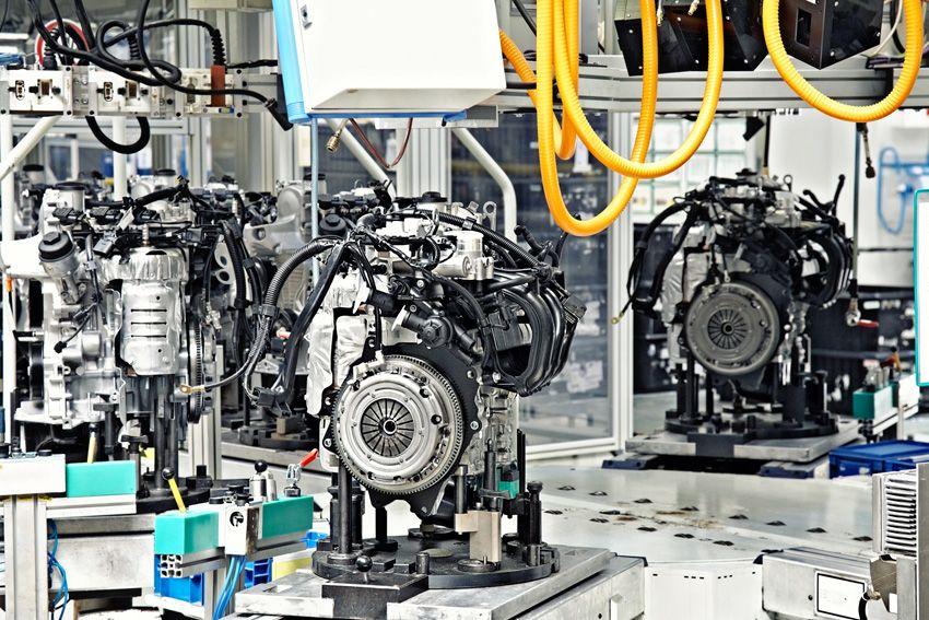 Assemblaggio di motori automatizzato