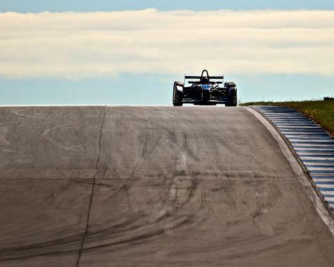 Una gara di Formula E