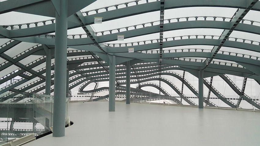 Il foyer dell'Auditorium Nuvola