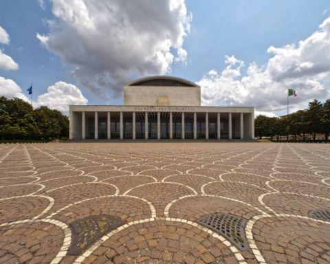 Il Palazzo dei Congressi dell'Eur