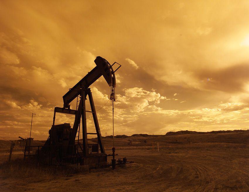 Pozzo di petrolio in Texas