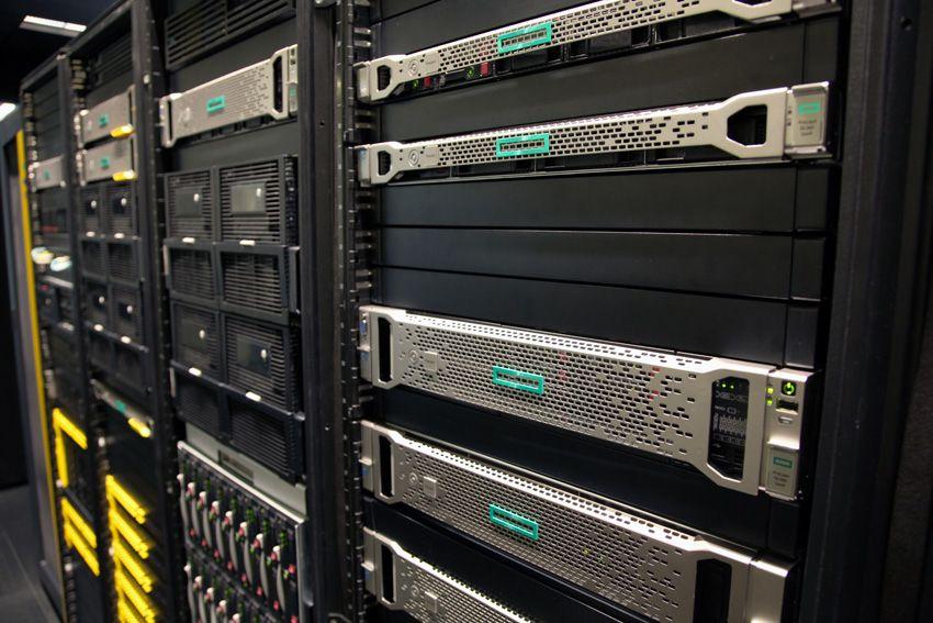 Data center di Hpe