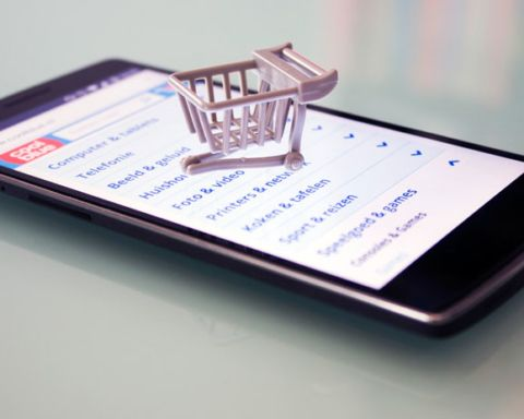 Shopping via smartphone