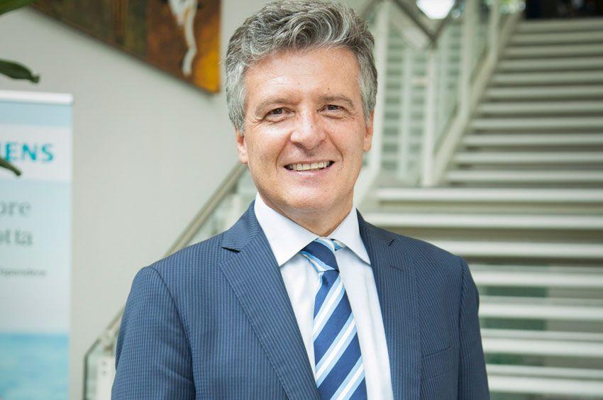 Giuliano Busetto, responsabile del settore industry di Siemens