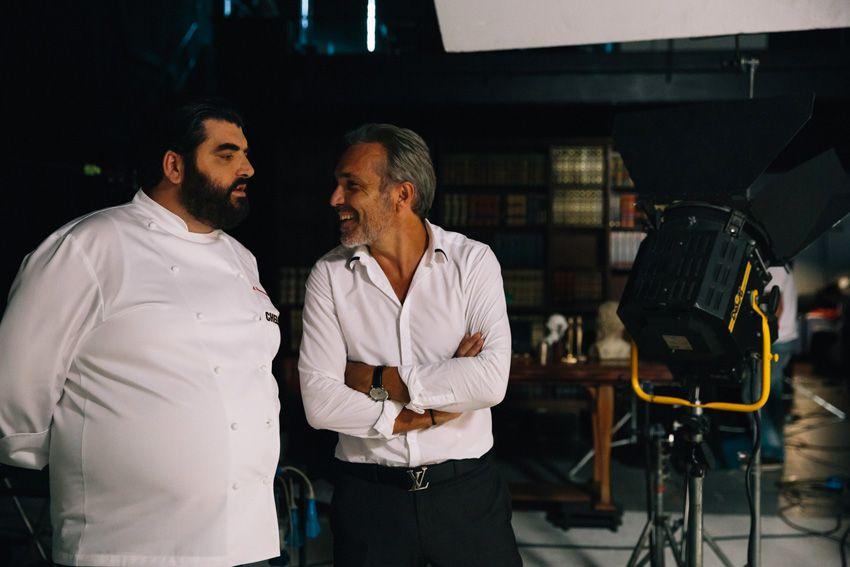 Cef, Guido Galimberti con Antonino Cannavacciuolo