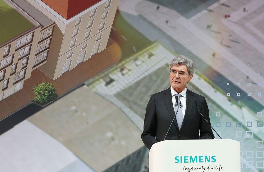 Joe Kaeser, presidente e Ceo di Siemens AG