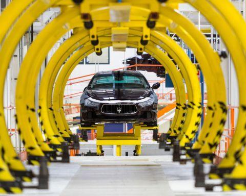 Maserati, fabbrica di Grugliasco