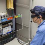 Sessione di manutenzione programmata con tecnologia indossabile (Epson)