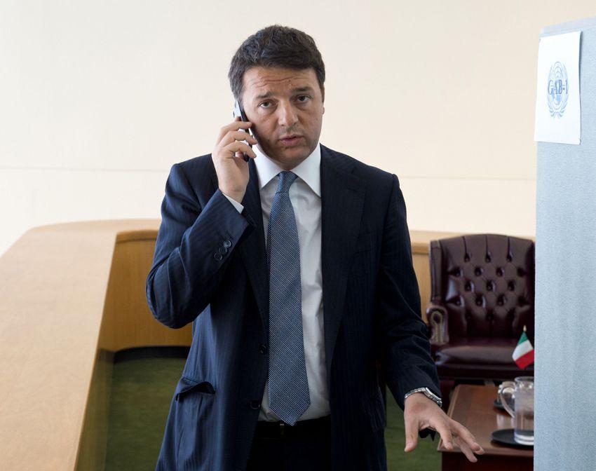 Il presidente del Consiglio, Matteo Renzi. Suo il provvedimento la Buona Scuola