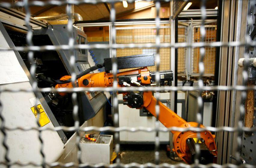 Robotica in fabbrica
