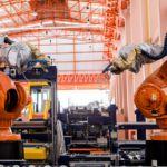 Industria 4.0, robot in fabbrica