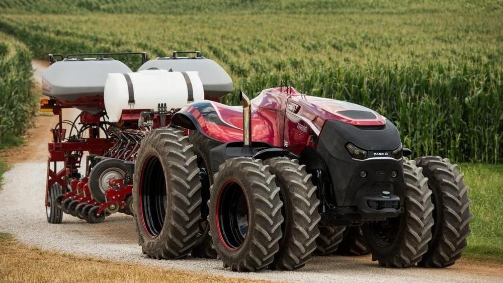 Il trattore senza guidatore di Cnh