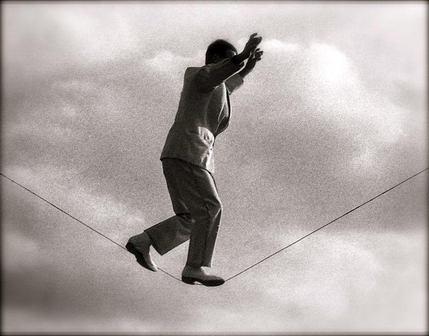 Camminare sul filo