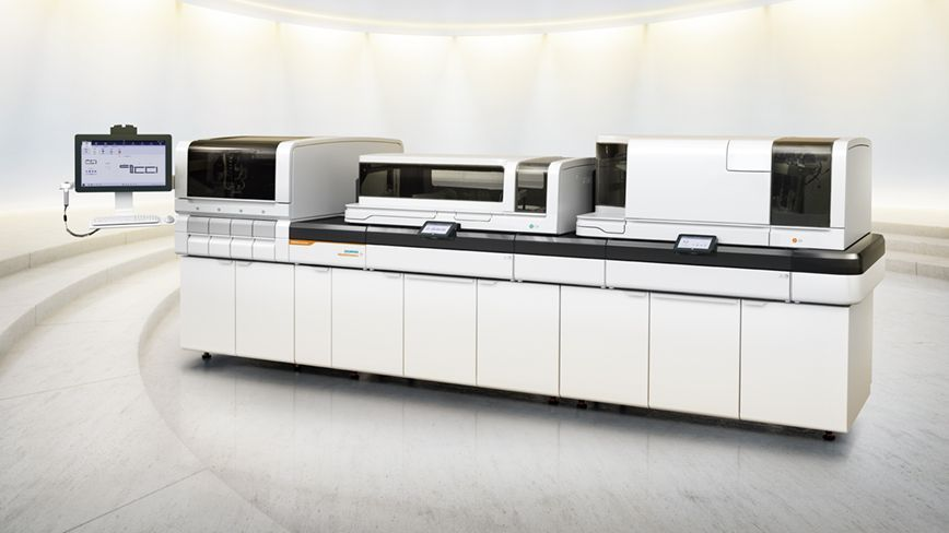 White Showroom atelica siemens