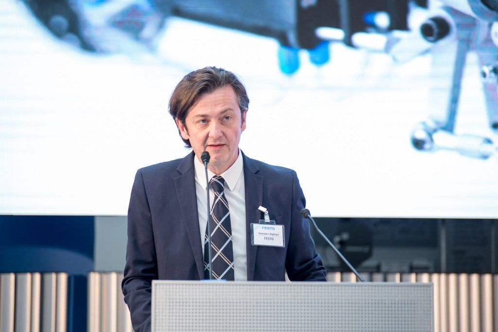 Giampiero Bighiani – Head of sales management Region Europe e Presidente Festo Italia – Foto Bighiani IMG6622