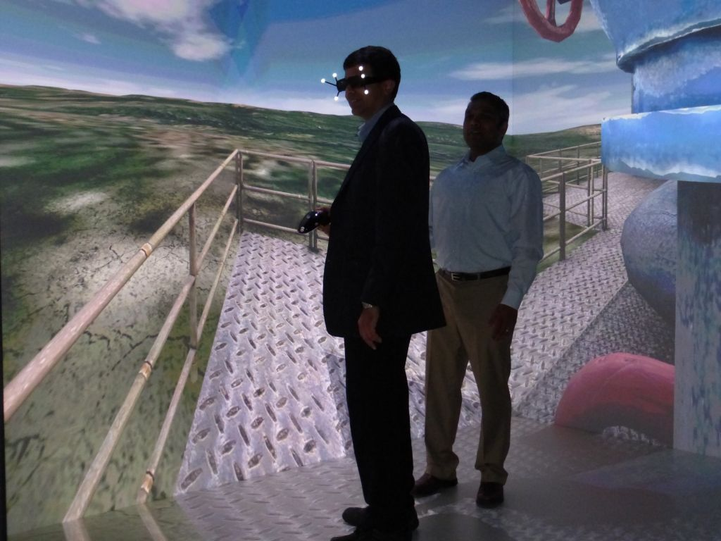 Dassault Systemes Waltham Executive Briefing Center Oil Rig jpg