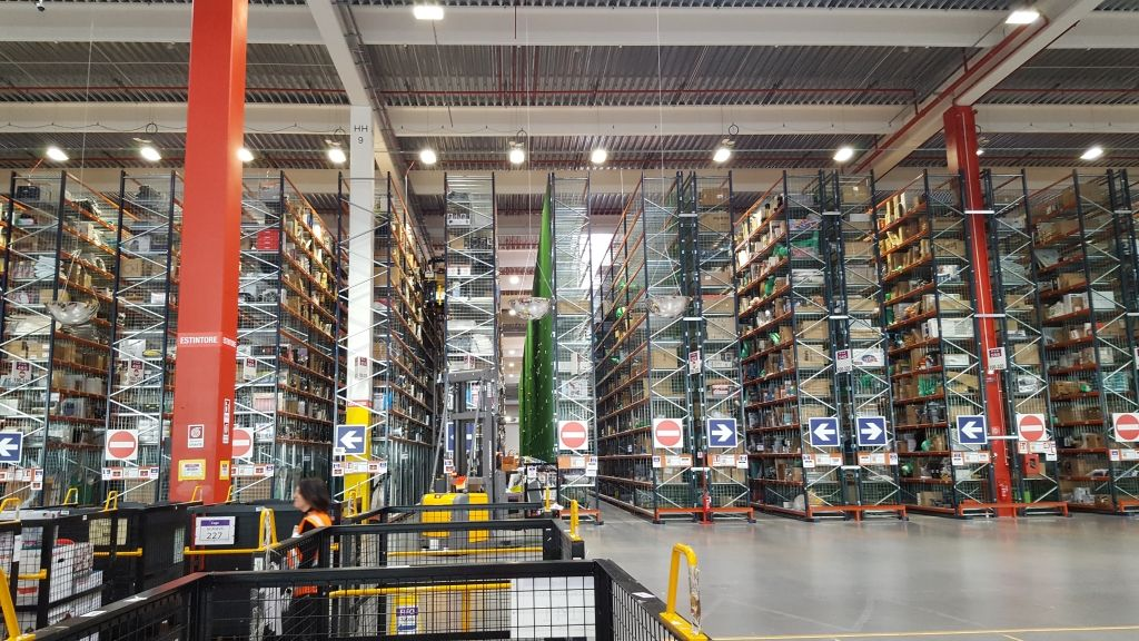 Centro di Distribuzione di Vercelli di Amazon