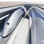 HyperloopTT system front view
