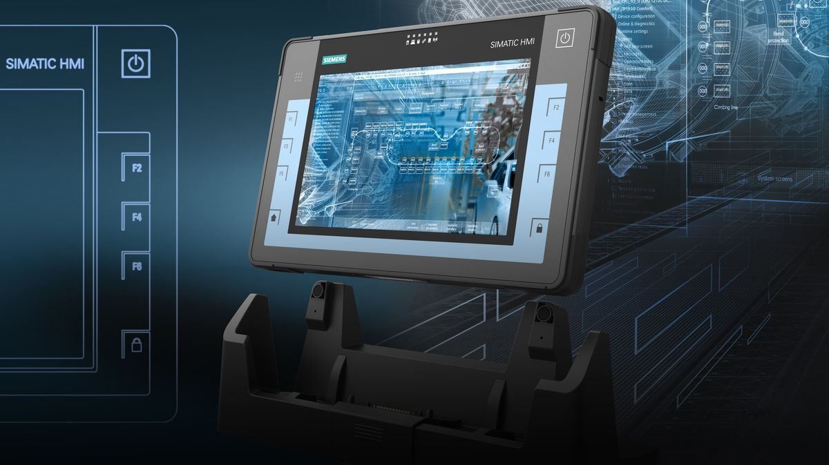Erster Tablet-PC von Siemens: Robust und gerüstet für industrielle Anwendungen / First tablet PC from Siemens: Rugged and geared for industrial applications
