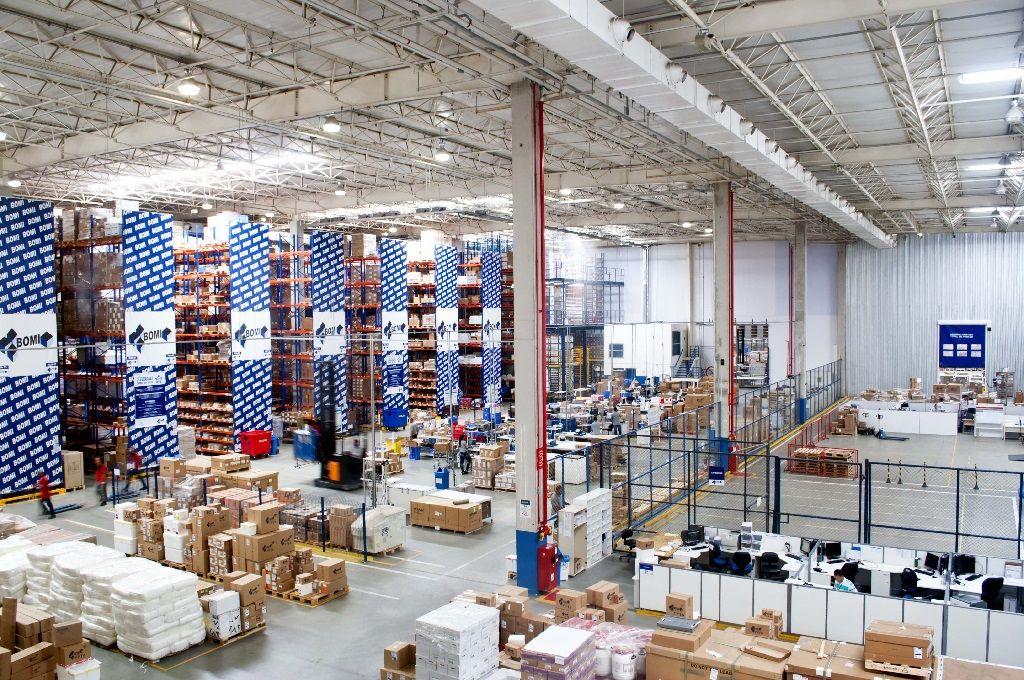 Bomi Gropu warehousing