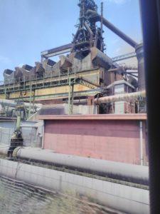 ora stabilimento ArcelorMittal Italia di Taranto|Lavori all'ex Ilva